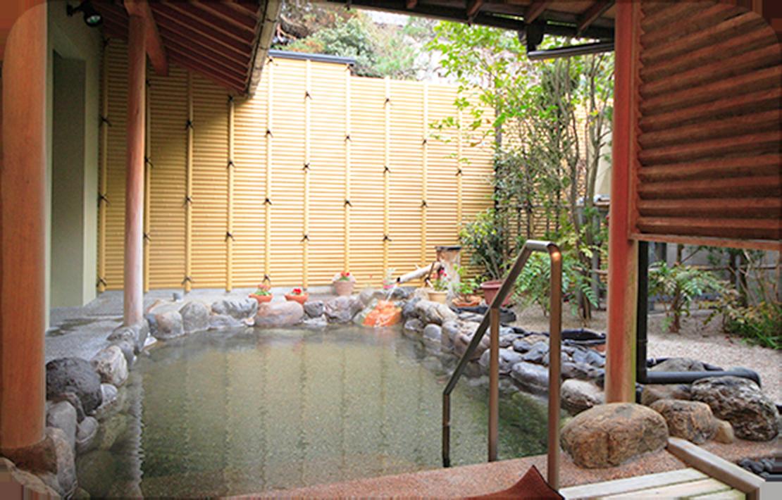 露天風呂「千福の湯」